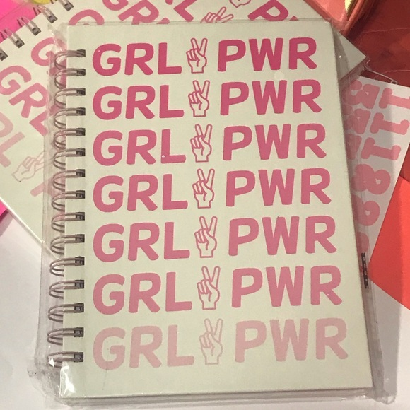 Tri-Coastal Design Other - NWT GRL✌️PWR Girl Power Spiral Meditative Journal